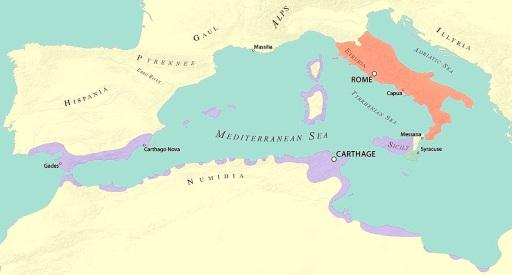 Rome 264 BCE